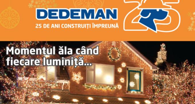 A apărut noul catalog Dedeman Turda! Vezi AICI ofertele lunii DECEMBRIE: