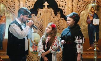 Foto: Concert extraordinar de colinde susținut de Călin Pop, Nicoleta Hădărean și Bianca Crișan