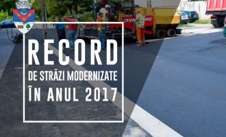 Primăria Municipiului Turda a derulat lucrări de asfaltare pe 22 de străzi în 2017