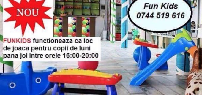 Loc de joacă pentru copii la FunKids Turda. Vezi aici mai multe detalii: