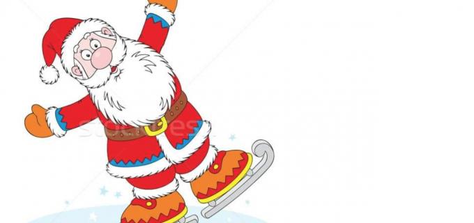 Orăşelul lui Moş Crăciun la patinoarul din Câmpia Turzii