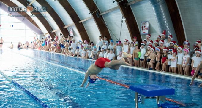 VIDEO/Foto:  Cupa Salina Turda la înot