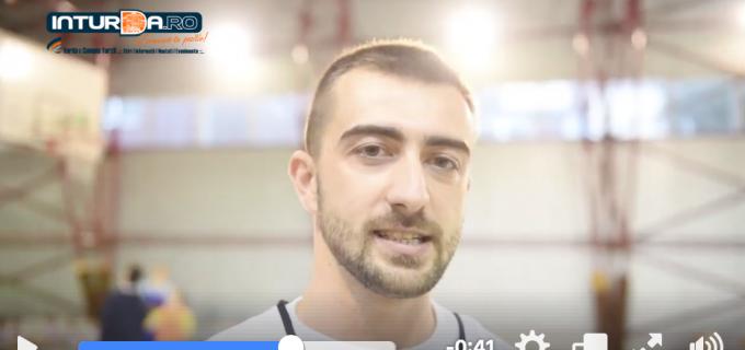 VIDEO: Moș Crăciun a ajuns și la baschetbaliștii de la AS Turda Wolves