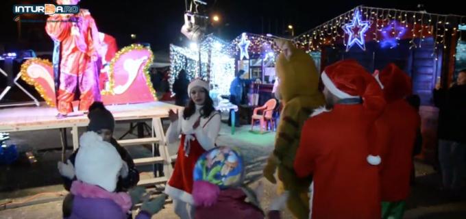 VIDEO: Orășelul lui Moș Crăciun! Magia copilăriei a cuprins Câmpia Turzii