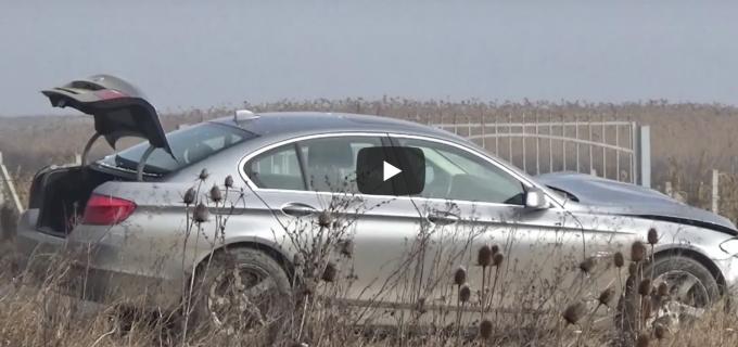 IPJ Cluj despre accidentul din Copăceni: Conducătorul auto a fost rănit grav!