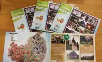 Noi materiale informative pentru turiștii aflați în vizită în județul Cluj