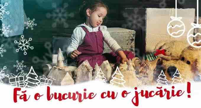 """Campanie TSD Turda: de Crăciun """"Fă o bucurie cu o jucărie!"""""""
