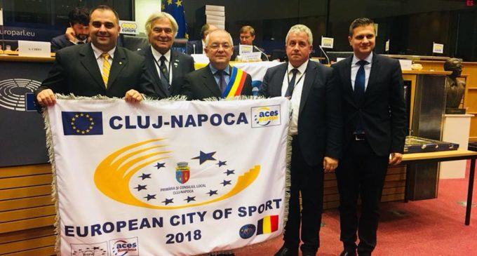 Începând de astăzi, Cluj-Napoca este oficial Oraș European al Sportului!