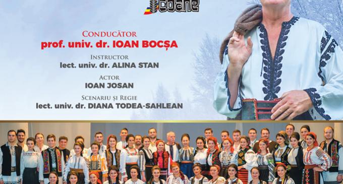 Concert de COLINDE TRANSILVANE la Turda, susținut de IOAN BOCȘA și ansamblul de muzică tradițională românească ICOANE
