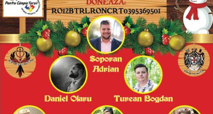 Concert caritabil de colinde la Câmpia Turzii