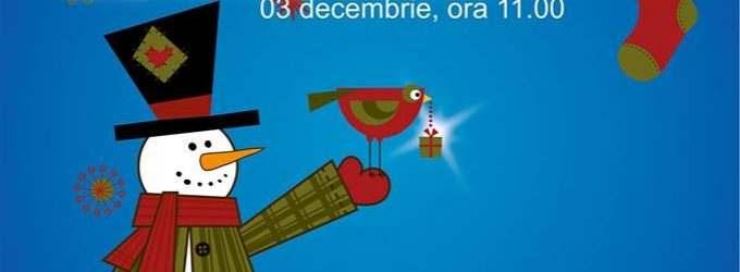 Teatrul Aureliu Manea Turda îi invită pe cei mici la o întâlnire cu Moș Crăciun. Actorii alături de cei mici vor construi interactiv Povestea lui Crăciun