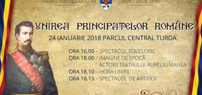 Turdenii sunt așteptați în Parcul Central pentru a sărbătorii Unirea Principatelor Române