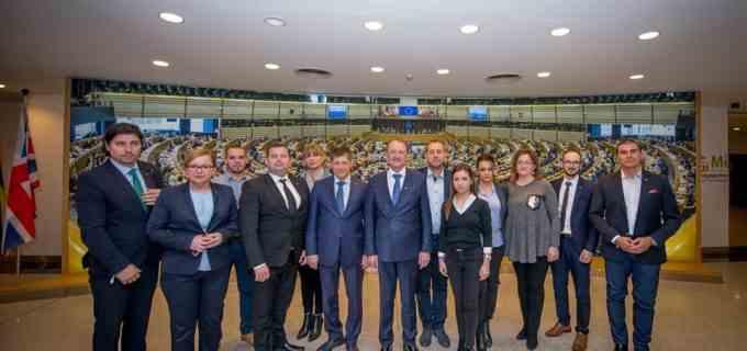 Turda, exemplu de bune practici in Parlamentul European