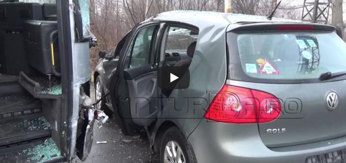 IPJ Cluj, despre accidentul rutier de pe strada Clujului