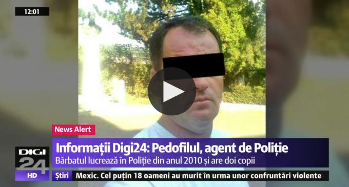 Pedofilul căutat de toată România a fost prins! Acesta lucra în cadrul Brigăzii Rutiere