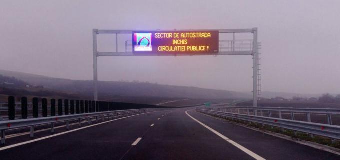 VIDEO – Veste proastă pentru șoferi: Autostrada Sebeș – Turda rămâne închisă
