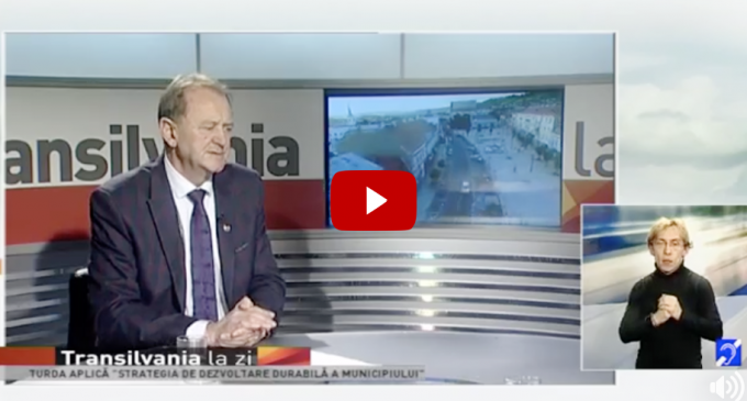 VIDEO: Primarul Municipiului Turda, Matei Cristian, invitatul emisiunii TRANSILVANIA LA ZI