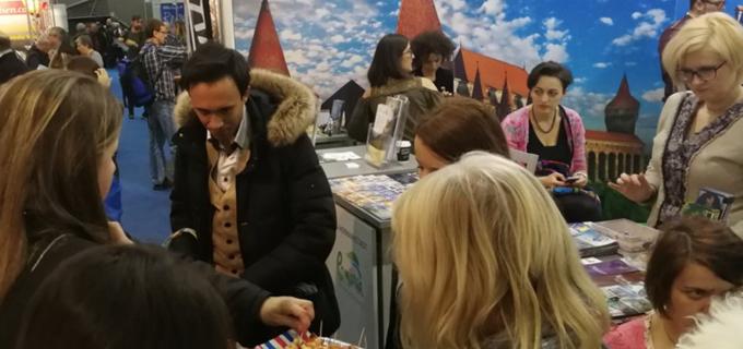 Prezență inedită la primul târg internațional de turism al anului 2018 pentru județul Cluj