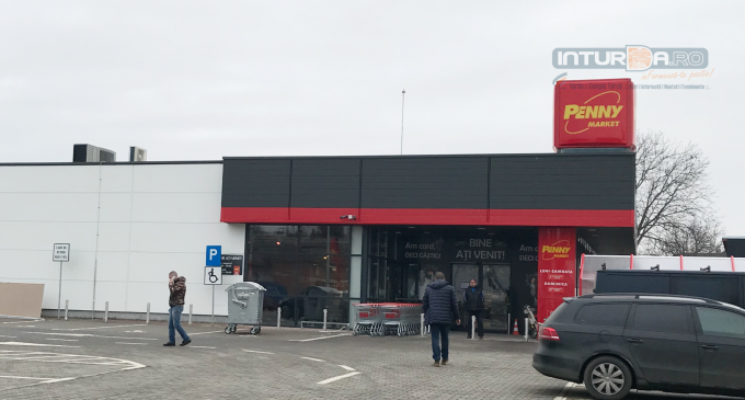Penny Market-ul situat pe strada Andrei Mureșanu se va deshide săptămâna viitoare