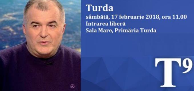 Florin Călinescu vine la Turda! Evenimentul va avea loc în Sala Mare a Primăriei Turda