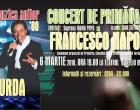 Muzica anilor '80 în CONCERTUL DE PRIMĂVARĂ pe care Francesco Napoli îl va susține la Turda