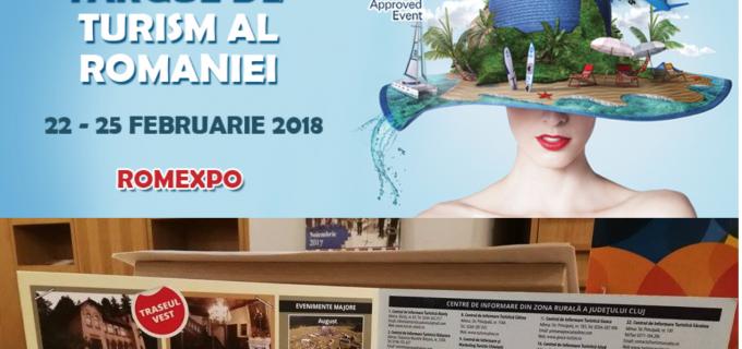 Oferta turistică a Clujului, promovată în cadrul Târgului Internațional de Turism al României