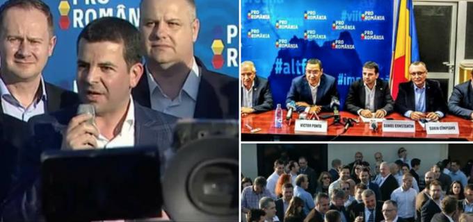 """Pro România a primit personalitate juridică. Mircea Irimie: """"Nimic din tot ceea ce a fost pe scena politică a acestor ultimi 28 de ani, nu poate fi comparat cu acest concept"""""""