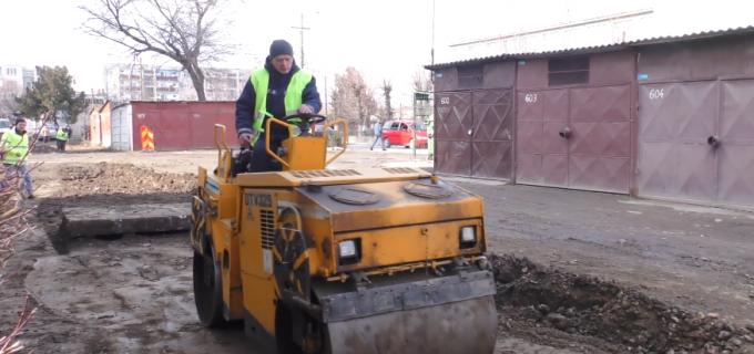 """La Turda au început lucrările de asfaltare. Matei Cristian: """"Oficial, deschidem şantierele şi începem modernizarea oraşului!"""""""