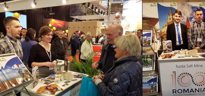 Salina Turda se promovează la cel mai mare târg de turism din zona Scandinaviei