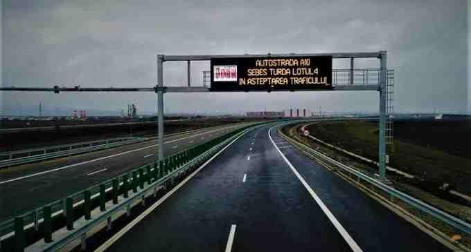 Autostrada Sebeș-Turda: 2 loturi în așteptarea traficului