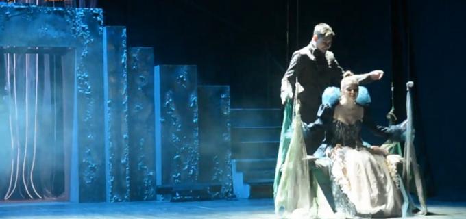 """Secvențe VIDEO: Premiera """"Visul unei nopți de vară"""", de Dragobete la Teatrul Aureliu Manea Turda"""