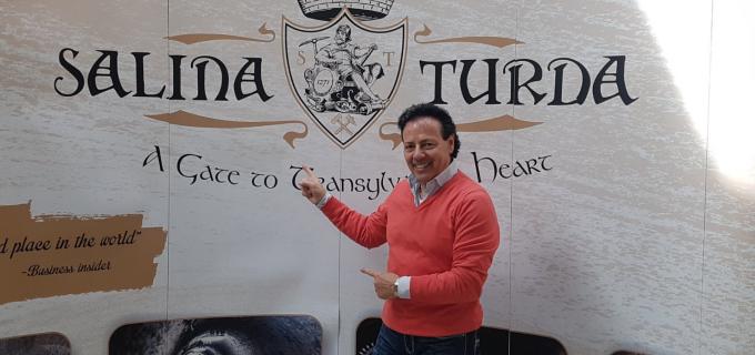 """VIDEO: Francesco Napoli despre Salina Turda: """"Am văzut un reportaj despre Turda, însă în realitate este ceva extraordinar. Am rămas fascinat!"""""""