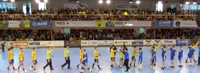 VIDEO: Potaissa Turda s-a impus în prima manșă a sferturilor de finală EHF Challenge Cup