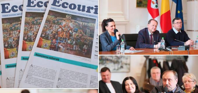 """VIDEO/Foto: Lansarea revistei culturale """"Ecouri"""""""