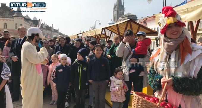 VIDEO: Evenimente speciale pentru copii la Târgul de Paște
