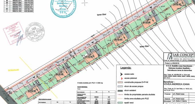 PUZ pentru subzonă de locuințe familiale în municipiul Turda, aflat în consultare publică