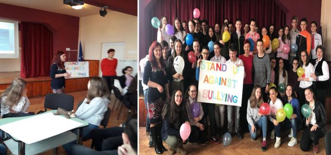 """Şcoala Gimnazială """"Horea, Cloşca şi Crişan"""" a desfăşurat în parteneriat cu elevii de la Şcoala Gimnazială """"Ioan Opriş"""", activitatea """"Diferiţi, dar egali!"""""""