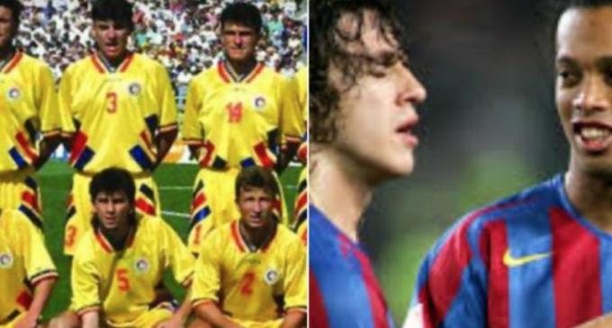 Legendele Barcelonei vin la Cluj pentru un meci contra Generatiei de Aur