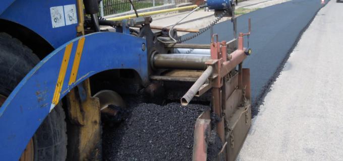 """Stadiul implementării proiectului  """"Reabilitare și modernizare infrastructură rutieră și utilități din corpul drumului în Băile Turda"""""""
