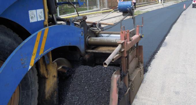 Foto: Lucrări de asfaltare pe Dj103G Mihai Viteazu – Cheia – Cheile Turzii și Tureni – DN 1