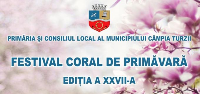 Festivalul Coral de Primăvară de la Câmpia Turzii a ajuns la cea de -a XXVII-a ediție
