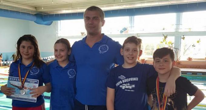 Delfinii turdeni la campionatele regionale de cadeti si copii