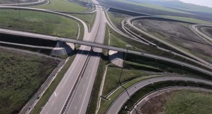 Mai multi șoferi au sunat la 112 după ce au observat un șofer circulând haotic pe Autostrada Turda – Gilău