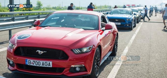 VIDEO/Foto: Curse interzise la Câmpia Turzii! Adrenalină la cote maxime pe autostrada Transilvania
