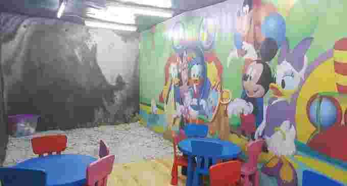 Salina Turda a pregătit un nou loc de joacă pentru cei mai mici vizitatori