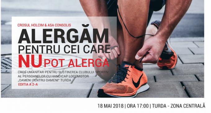 Astăzi la Turda: Cros Umanitar – Alergăm pentru cei care NU pot alerga
