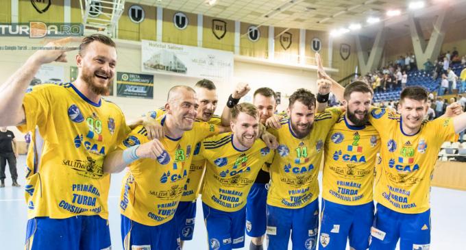 Clujul își premiază campionii! Potaissa Turda alături de CFR Cluj și U Cluj la ceremonia de premiere
