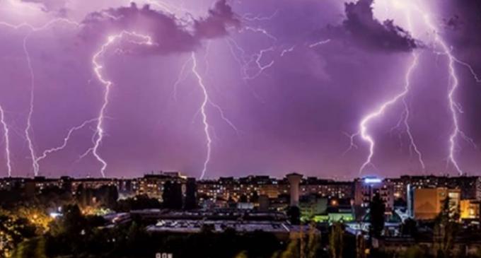 COD galben de ploi torenţiale, vijelii şi grindină în judetul Cluj!