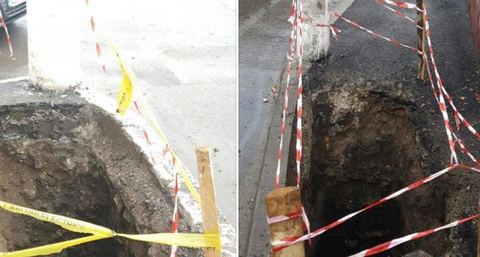 """Primăria Turda: """"Compania de Distribuție a Energiei Electrice a executat lucrări fără autorizatie pe strada Cloșca"""""""