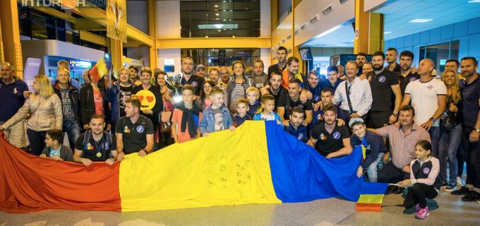 VIDEO: Momente unice la Aeroportul din Cluj! Potaissa Turda a adus acasă trofeul Challenge Cup